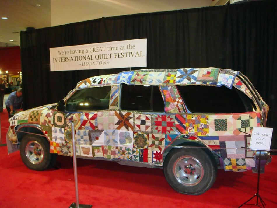 Shiner Heritage Quilt Guild : Quilting Car : houston quilting show - Adamdwight.com